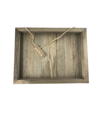 Rustic 12x16'' Frame Wood Plank