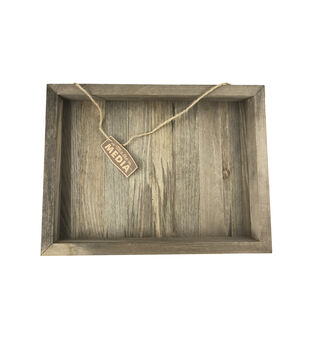 Mix the Media 12''x16'' Wood Plank Frame-Rustic