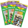 I ? Metal Plan to Shine superShapes Stickers 43 Packs