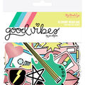 My Mind\u0027s Eye Good Vibes 55 pk Mixed Bag Cardstock Die-Cuts with Foil