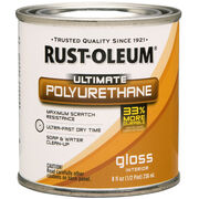 Rust-Oleum Ultimate Polyurethane Clear Gloss 8oz, , hi-res