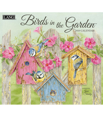 Birds In The Garden 2019 Wall Calendar