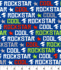 Snuggle Flannel Fabric 42\u0022-Cool Rockstar