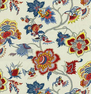 """IMAN Home Print Fabric 54""""-Samoan Plantation/Gem"""