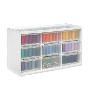 ArtBin Store In Drawer Cabinet with 9 Drawers