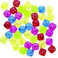 Darice 12mm Dice Beads-70PK/Multi