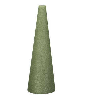 9X4In Foam Cone Green