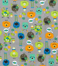 Snuggle Flannel Fabric -Sweet Tooth Monsters