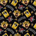 Cooperstown Pittsburgh Pirates Cotton Fabric