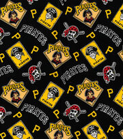Cooperstown Pittsburgh Pirates Cotton Fabric, , hi-res