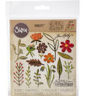 Sizzix Thinlits Dies By Tim Holtz -Funky Floral #2