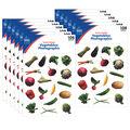 Carson Dellosa Vegetables Photographic Stickers 12 Packs