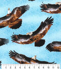 Novelty Cotton Fabric-Eagles