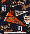 Detroit Tigers Fleece Fabric-Vintage