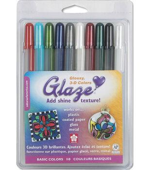 Gelly Roll Glaze Bold Point Pens 10/Pkg-Basics