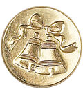 Manuscript Decorative Seal Coin-Bell