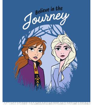 Disney Frozen 2 No Sew Fleece Throw-Sisters