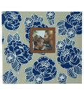 Park Lane 12\u0027\u0027x12\u0027\u0027 Scrapbook Album-Blue & White Floral
