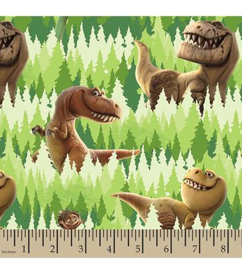 Disney PIXAR The Good Dinosaur Print Fabric