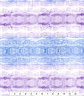 Kathy Davis Rayon Apparel Fabric -Cool Ombre Waves