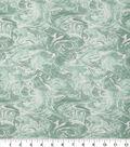 Keepsake Calico Cotton Fabric -Oil Slick Green Pearl