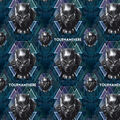 Marvel Black Panther Print Fabric by Springs Creative-Head Toss