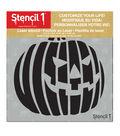 Stencil1 Customize Your Life! 5.75\u0027\u0027x6\u0027\u0027 Laser Stencil-Jack-O-Lantern 2