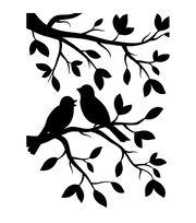 Darice Birds Branch Embossing Folder, , hi-res