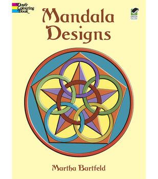 Adult Coloring Book-Dover Publication Mandala Designs