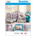 Simplicity Pattern 1384OS One Size -Crafts Home Dcor