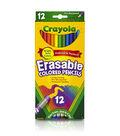 Crayola Erasable Colored Pencils-12/Pkg Long