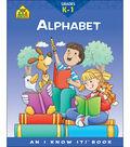 School Zone Curriculum Workbooks-Alphabet
