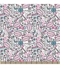 Snuggle Flannel Fabric 42\u0022-Doodles