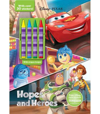 Parragon Disney Pixar Hopes & Heroes Activity Book