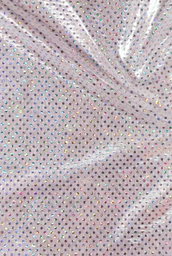 Performance Ultimate Polyester & Spandex Fabric 57''-Silver