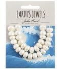 John Bead Earth\u0027s Jewels Freshwater Pearls Semi Round-10-12mm
