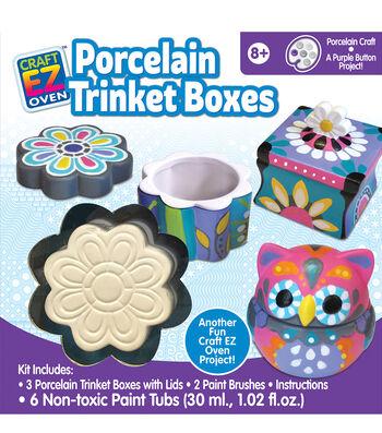 Craft EZ Oven-Porcelain Trinket Boxes