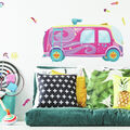 York Wallcoverings Wall Decals-Sunny Day Bus