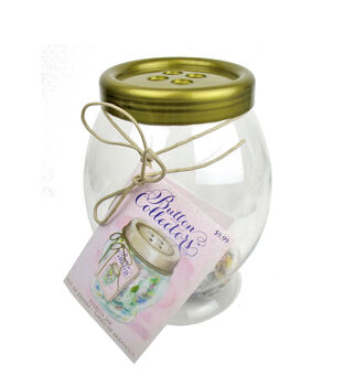 Large Button Collector Jar