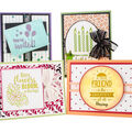 Gina K. Designs Sheer Satin Fancy Ribbon 5/8\u0027\u0027x10 yds-White & Gold
