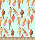 It\u0027s Your Birthday Ice Cream Party Print Fabric