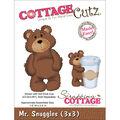 CottageCutz Die -Mr. Snuggles 1.5\u0022X2.5\u0022