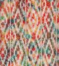 Indian Batiks Cotton Fabric -Multi Bright Aztec Geometrics