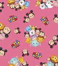 Tsum Tsum Cotton Fabric -Group Toss
