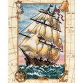 Dimensions Gold Collection Counted Cross Stitch Kit Voyage At Sea Petite