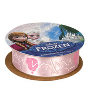"Frozen Ribbon 7/8""x9'-Anna Silhouette, , hi-res"