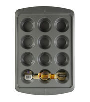 Wilton Ever-Glide Non-Stick Muffin Pan 12-Cup, , hi-res