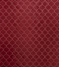 Home Decor 8\u0022x8\u0022 Fabric Swatch-Print Fabric Eaton Square Chaplin Red