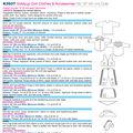Kwik Sew Crafts Doll Clothes-K3937