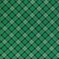 St. Patrick\u0027s Day Cotton Fabric-Plaid